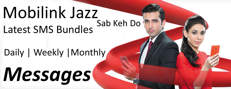 Latest List Of Mobilink Jazz Message Package