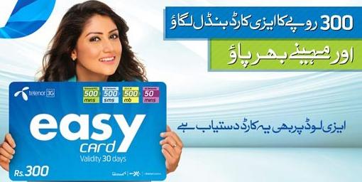 Telenor Talkshawk Easy card Offer