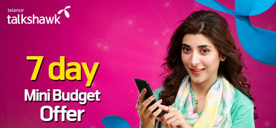 Telenor Weekly Mini Budget Offer