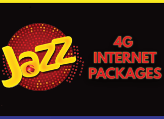 jazz internet package