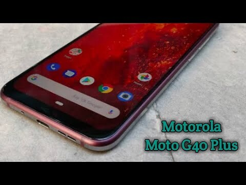 Motorola Moto G40 Plus