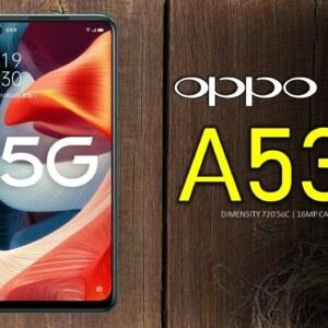 Oppo A53s 5G