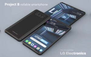 LG Rollable Tablet Phone