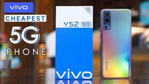 Vivo Y52 5G emage