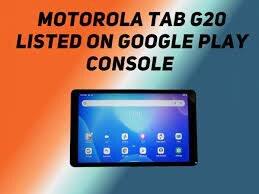 Lenovo Moto Tab G20